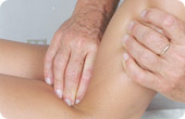 deep tissue pain point massage