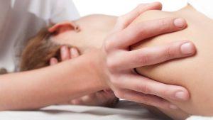 professional shoulder massage