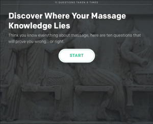 Massage Quiz
