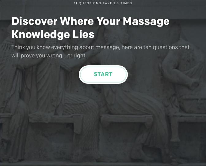 Massage Quiz