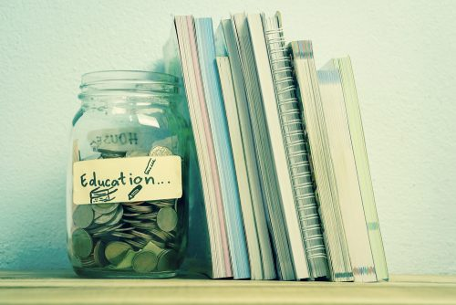 education savings jar
