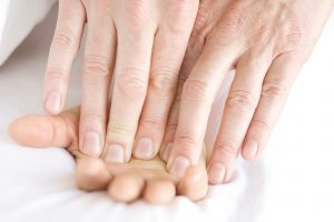 hand massage therapy